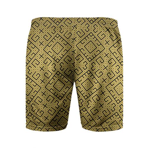 Мужские шорты 3D спортивные  Фото 02, Обережная Вышивка