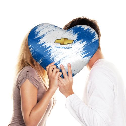 Подушка 3D сердце  Фото 03, Chevrolet