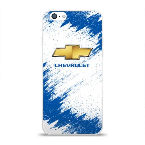 Чехол для Apple iPhone 6 силиконовый глянцевый  Фото 01, Chevrolet