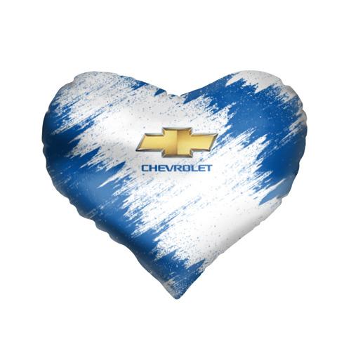 Подушка 3D сердце  Фото 01, Chevrolet