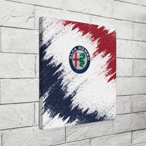 Холст квадратный  Фото 03, Alfa Romeo
