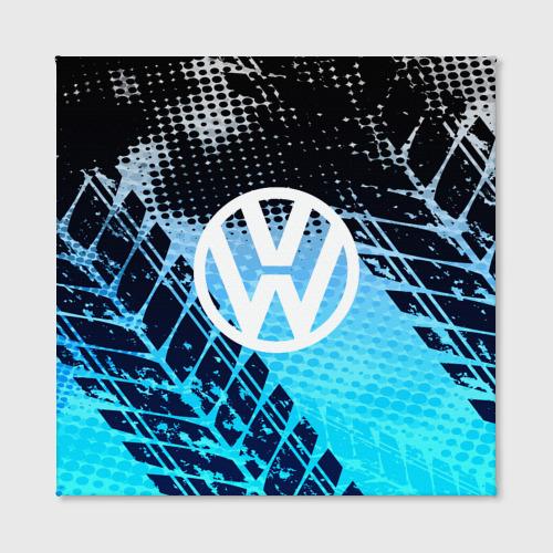 Холст квадратный  Фото 02, Volkswagen sport auto motors