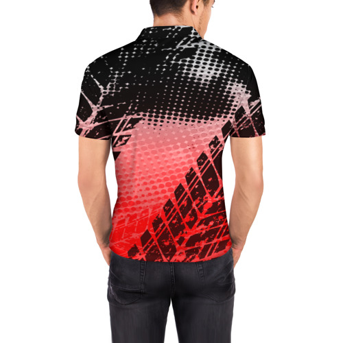 Мужская рубашка поло 3D  Фото 04, Volkswagen sport auto motors