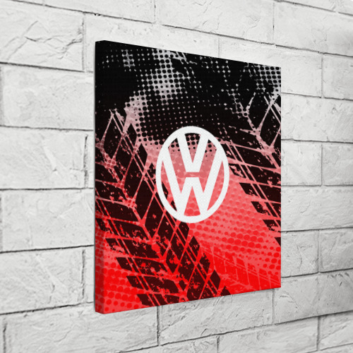 Холст квадратный  Фото 03, Volkswagen sport auto motors
