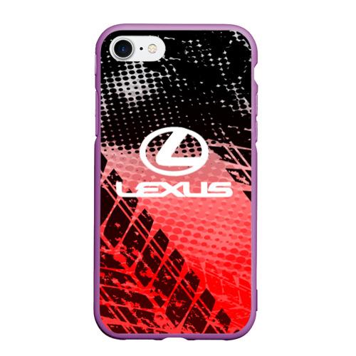 Чехол для iPhone 7/8 матовый Lexus sport auto motors Фото 01