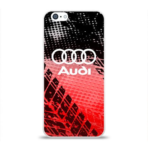 Чехол для Apple iPhone 6 силиконовый глянцевый  Фото 01, Audi sport auto motors