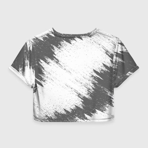Женская футболка 3D укороченная  Фото 02, JAGUAR
