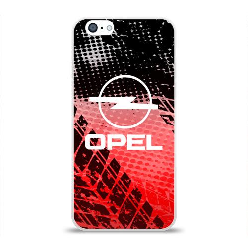 Чехол для Apple iPhone 6 силиконовый глянцевый  Фото 01, Opel sport auto motors