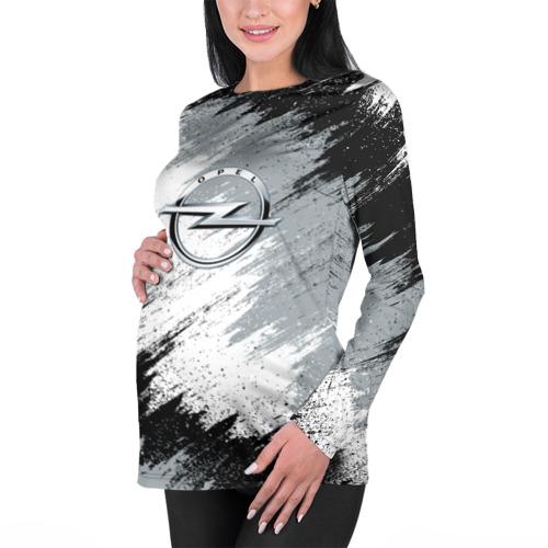 Женский лонгслив 3D для беременных  Фото 01, OPEL