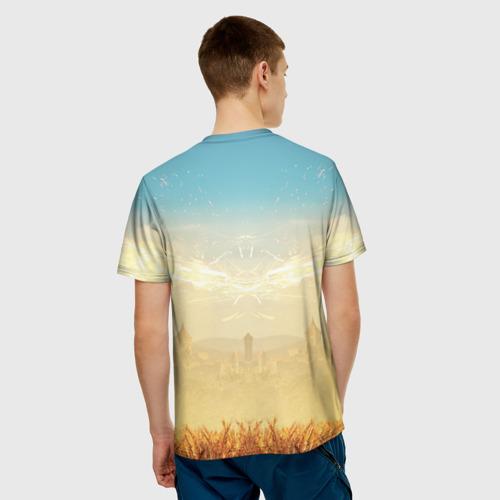 Мужская футболка 3D  Фото 02, Ведьмак. Игни