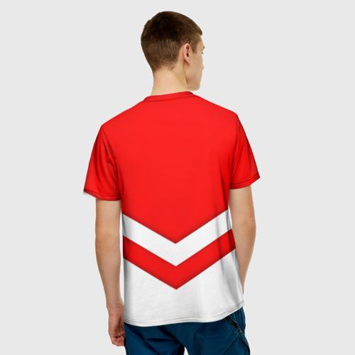 Мужская футболка 3D  Фото 02, Звезды и полосы