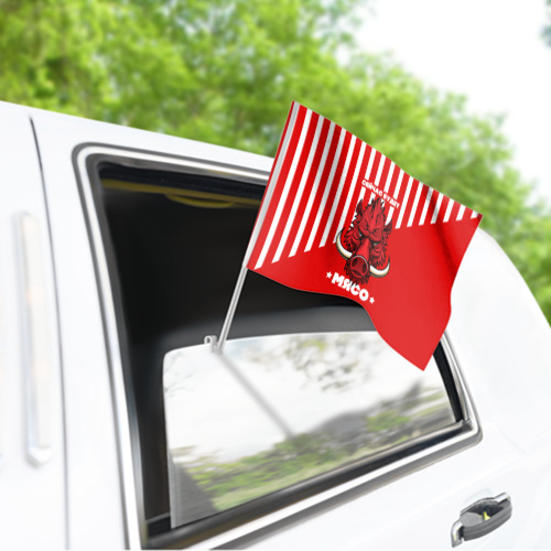 Флаг для автомобиля Будет мясо Фото 01