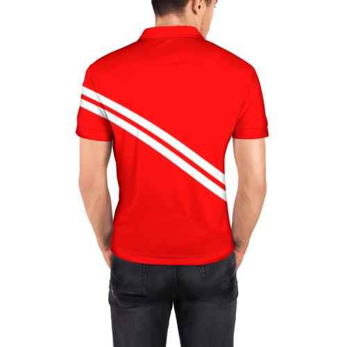 Мужская рубашка поло 3D  Фото 04, Кто мы? Мясо!