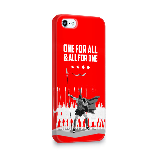 Чехол для Apple iPhone 5/5S 3D  Фото 02, One for all & all for one!
