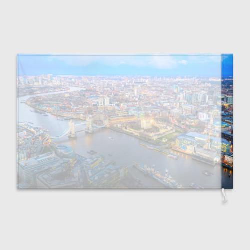 Флаг 3D Лондон Фото 01