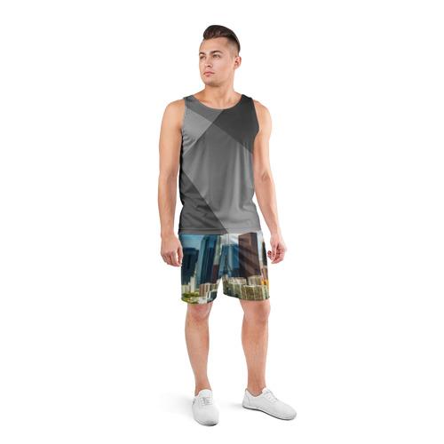 Мужские шорты 3D спортивные  Фото 04, Los Angeles