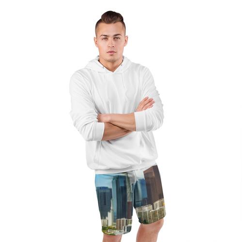 Мужские шорты 3D спортивные  Фото 05, Los Angeles
