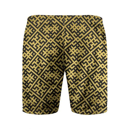 Мужские шорты 3D спортивные  Фото 02, Духобор (Обережная Вышивка)