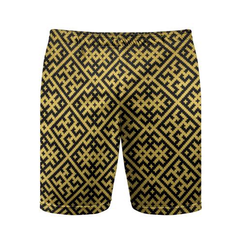 Мужские шорты 3D спортивные  Фото 01, Духобор (Обережная Вышивка)