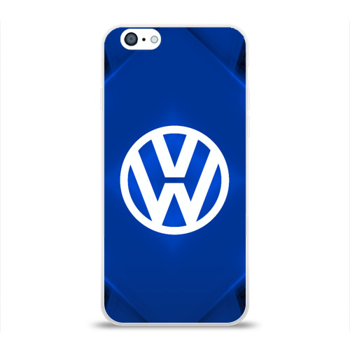Чехол для Apple iPhone 6 силиконовый глянцевый  Фото 01, Volkswagen SPORT