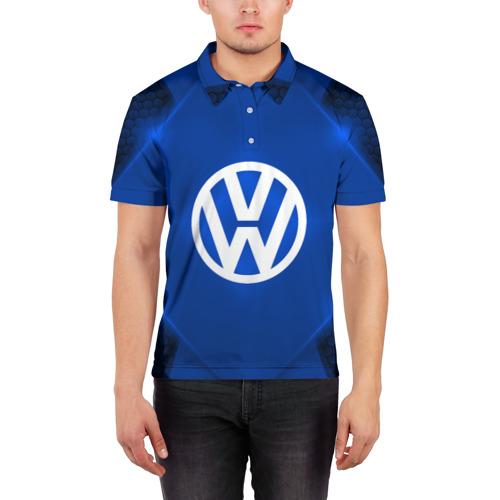 Мужская рубашка поло 3D  Фото 03, Volkswagen SPORT