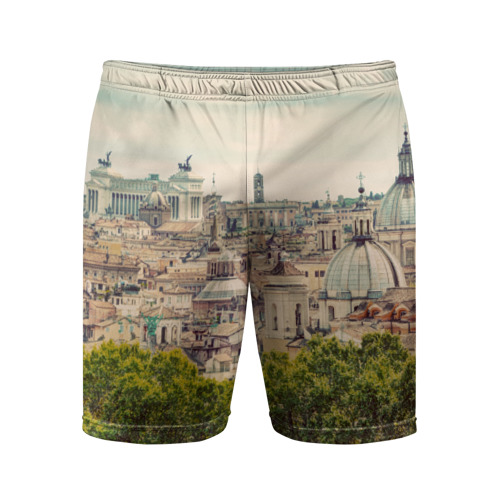 Мужские шорты 3D спортивные  Фото 01, Рим