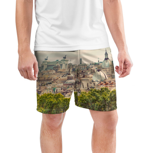 Мужские шорты 3D спортивные  Фото 03, Рим