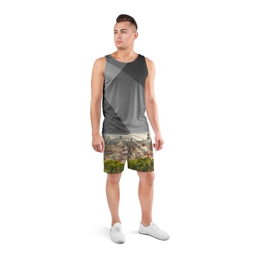Мужские шорты 3D спортивные  Фото 04, Рим