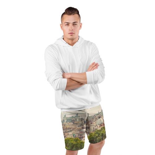 Мужские шорты 3D спортивные  Фото 05, Рим