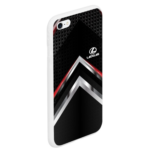 Чехол для iPhone 6Plus/6S Plus матовый Lexus abstract line Фото 01