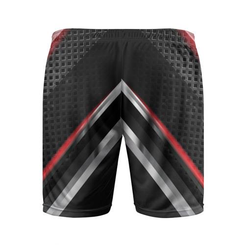 Мужские шорты 3D спортивные  Фото 02, Kia abstract line