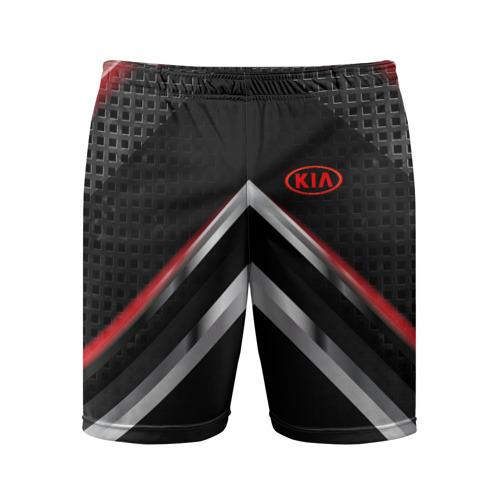 Мужские шорты 3D спортивные  Фото 01, Kia abstract line
