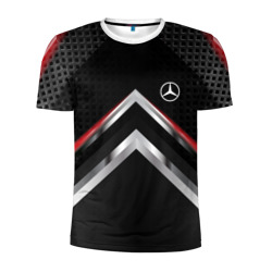 Mercedes abstract line