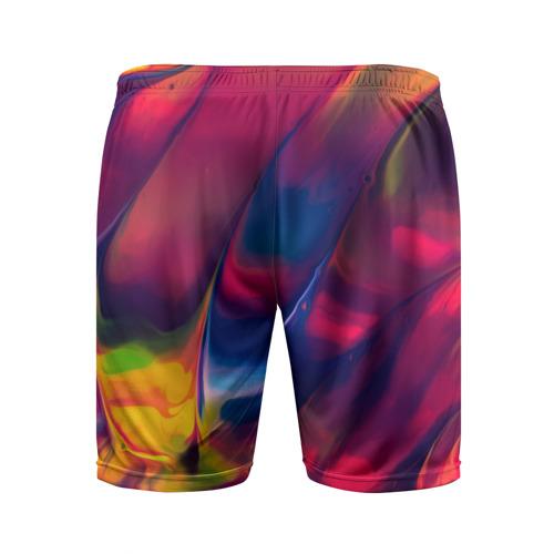 Мужские шорты 3D спортивные  Фото 02, Красочная идилия