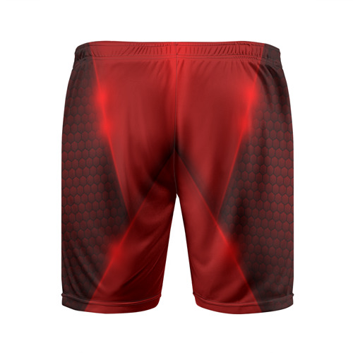Мужские шорты 3D спортивные  Фото 02, Hyundai car sport RED