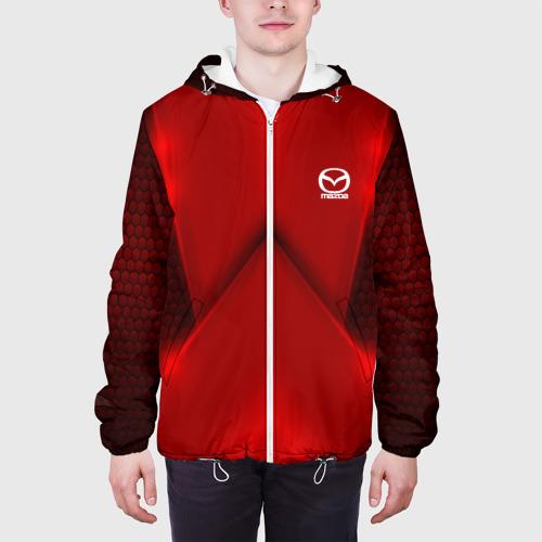 Мужская куртка 3D  Фото 04, Mazda  car sport RED