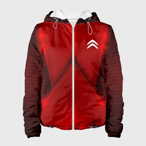 Женская куртка 3D  Фото 01, Citroen car sport RED