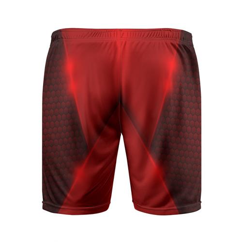 Мужские шорты 3D спортивные  Фото 02, Chevrolet car sport RED