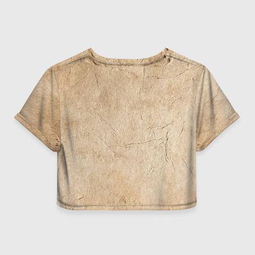 Женская футболка 3D укороченная  Фото 02, Зигмунд Фрейд