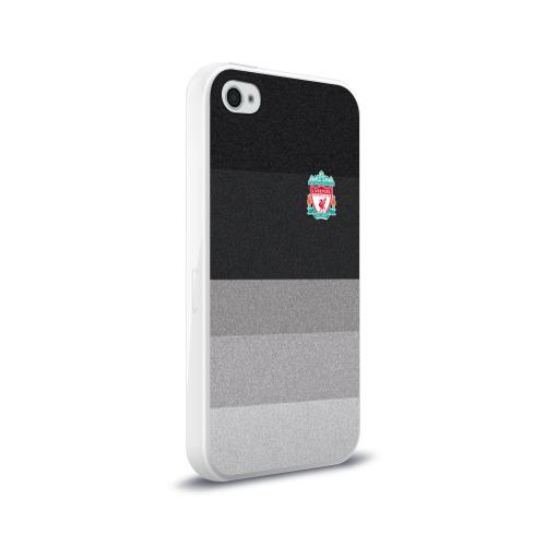 Чехол для Apple iPhone 4/4S силиконовый глянцевый Ливерпуль Фото 01