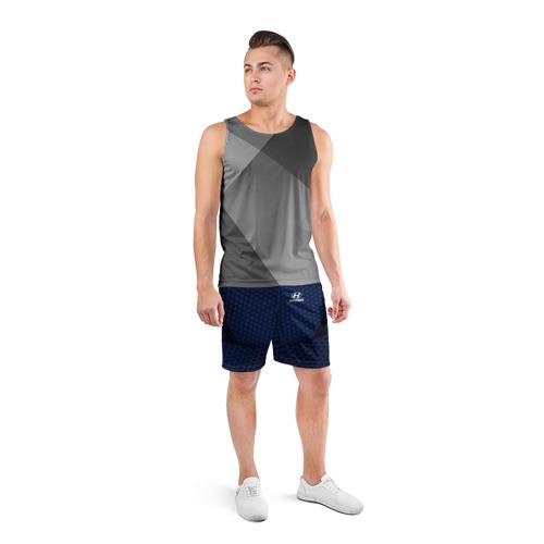 Мужские шорты 3D спортивные  Фото 04, Hyundai SPORT MOTORS