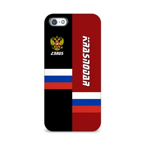 Чехол для Apple iPhone 5/5S 3D  Фото 01, KRASNODAR (Краснодар)