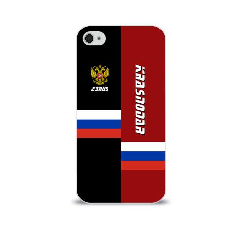Чехол для Apple iPhone 4/4S soft-touch  Фото 01, KRASNODAR (Краснодар)