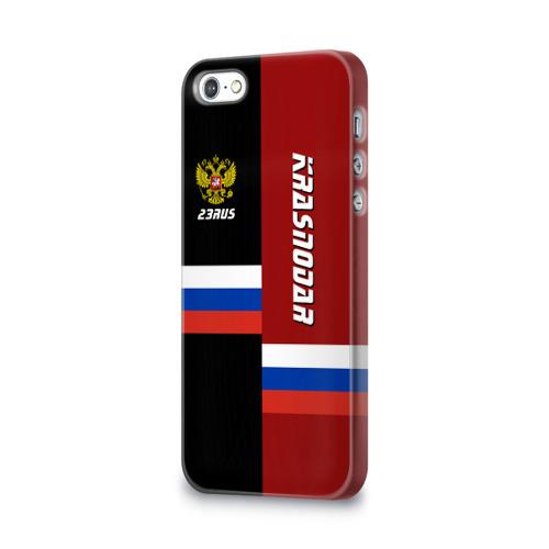 Чехол для Apple iPhone 5/5S 3D  Фото 03, KRASNODAR (Краснодар)