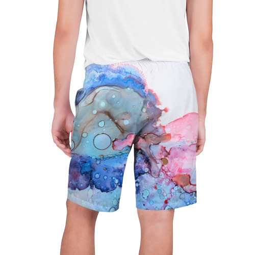 Мужские шорты 3D  Фото 02, Акварельные разводы