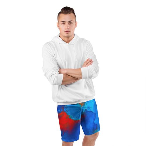 Мужские шорты 3D спортивные  Фото 05, blob color