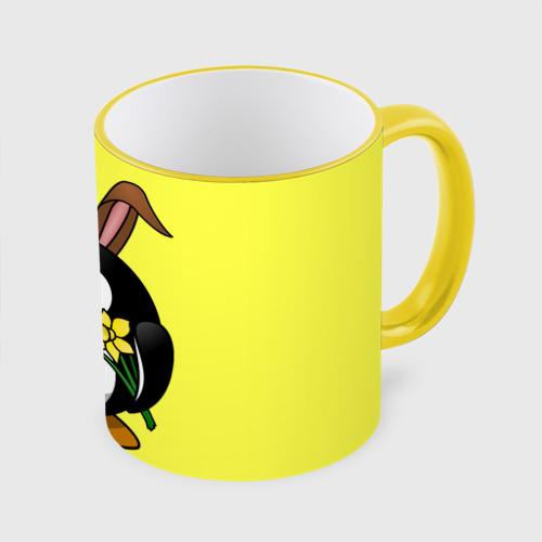Кружка с полной запечаткой  Фото 01, Пасхальный пингвин