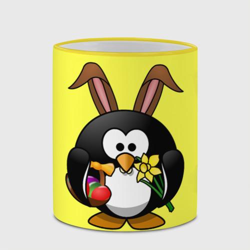 Кружка с полной запечаткой  Фото 03, Пасхальный пингвин