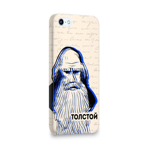Чехол для Apple iPhone 5/5S 3D  Фото 02, Лев Толстой