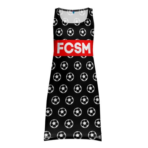 Платье-майка 3D  Фото 01, Футбольная мода